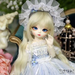 LUTS 19th Anniv. Honey Delf Happiness on $10 Blue ver. Limited